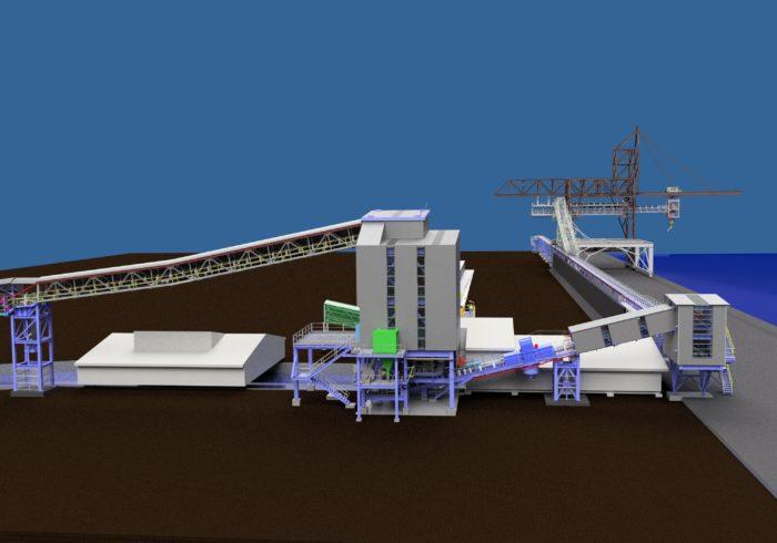 wharf bulk materials handling system design