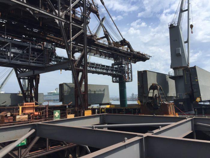 Wharf Bulk Materials Handling